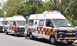 Tata Motors supplies 25 ambulances to Gujarat Govt;  Gets order for 115