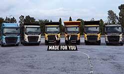 Volvo launches 6 heavy-duty trucks under the FM, FMX range