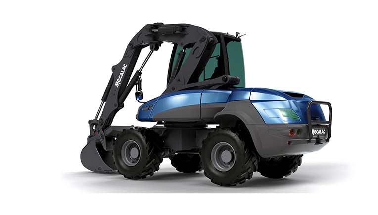 Dana to provide e-drivetrain for Mecalac electric compact wheeled excavator