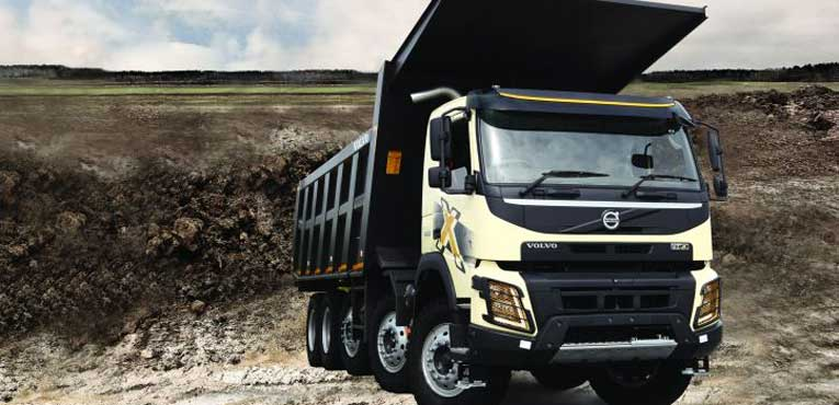 Volvo Trucks launches the largest capacity multiaxle dump trucks