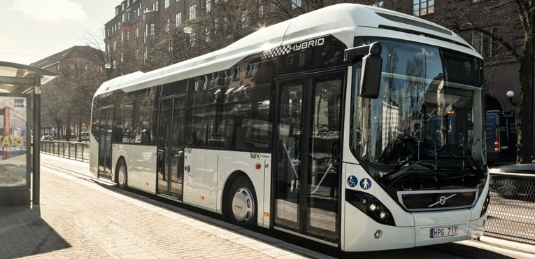 Volvo introduces hybrid city buses in India