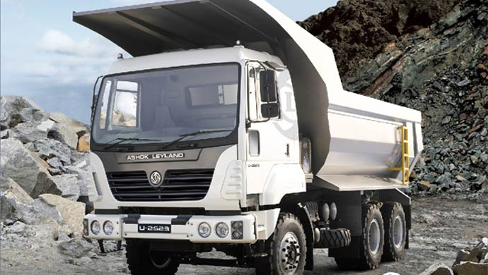 Ashok Leyland truck; Picture for representation purpose only