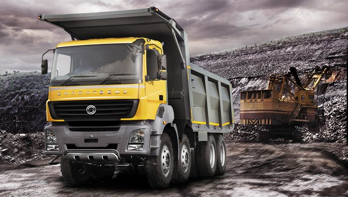 BharatBenz truck; Pic courtesy Bharat Benz, Pic for representation purpose only