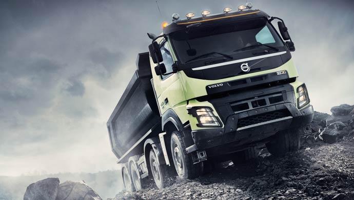 Volvo FMX range; Pic courtesy Volvo Trucks; Picture for representation purpose only