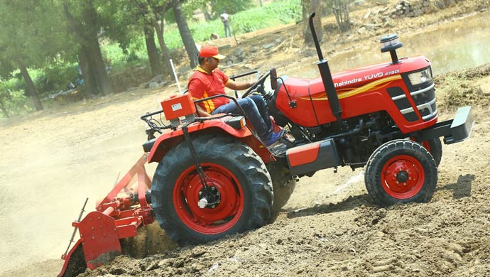 Mahindra Launches Yuvo Tractor In 30 45 Hp Range For Rs 5