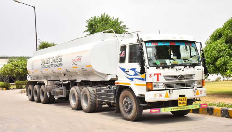 The tankers are also used to carry the Mono Ethylene Glycol (MEG) which is the base material used in the manufacture of anti-freeze coolants.