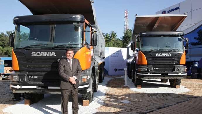 Scania at Excon 2015