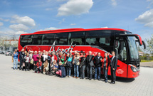 Around the world in a Setra ComfortClass 500