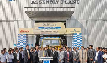 Ashok Leyland announces opening of new assembly plant in Dhaka