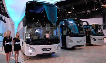 Busworld Kortrijk spreads the Bus word globally