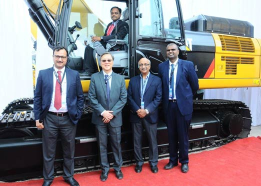 Caterpillar launches new range of backhoe loaders, wheel loaders & excavators