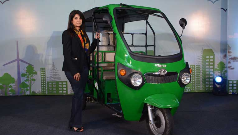Electric Auto Kinetic Safar is 1st with Lithium Ion battery technology