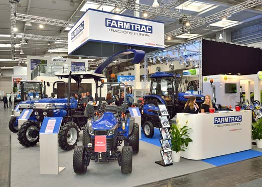 Escort's Farmtrac unveils global tractor series designed by Studio F. A. Porsche