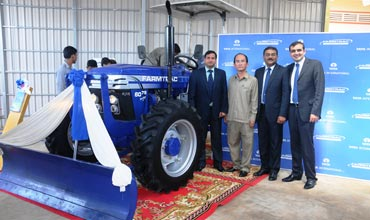 Escorts-Tata takes tractor retailing model in Cambodia to a new level