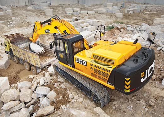 JCB Introduces world's first Backhoe Loader with AMT, largest 38 Ton Tracked Excavator