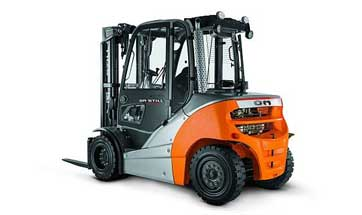 Kion forklift truck brands Voltas and OM join forces in India