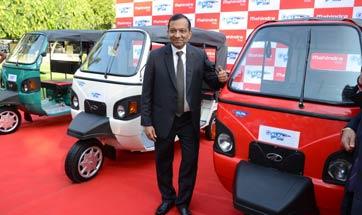 Mahindra launches e-Alfa Mini electric rickshaw for Rs 1.12 lakh