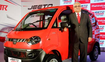 Mahindra launches new Jeeto Minivan for Rs. 3.45 lakh
