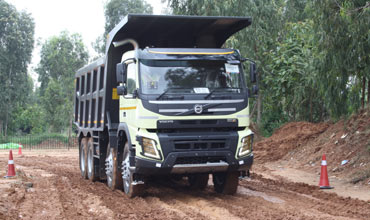 Volvo launches new truck range in India