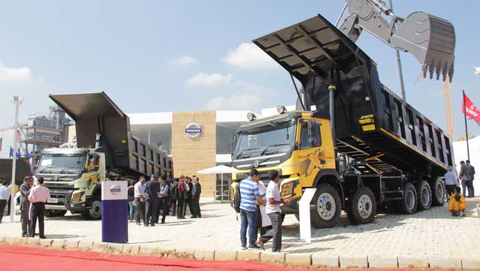 Volvo Trucks at Excon 2015