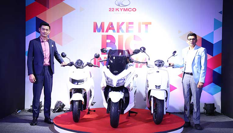 22Kymco to set up plant in Bhiwadi for electric, gasoline scooters