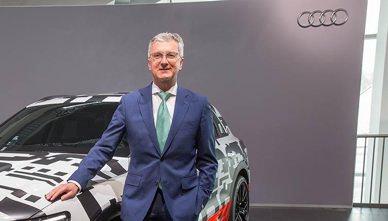 Rupert Stadler, CEO of Audi