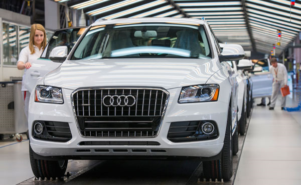 Audi Meets Its 2015 Global Sales Target Two Years In