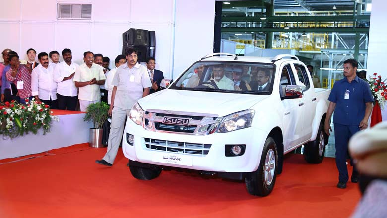 Inauguration of the Isuzu Motors plant in Andhra Pradesh; File photo