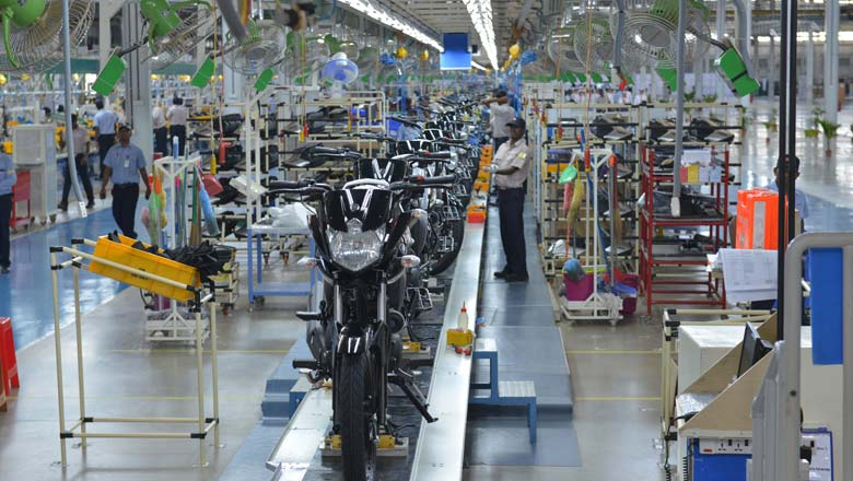 Yamaha factory in Chennai; Pic for representation purpose only