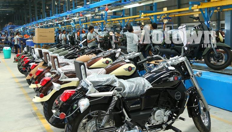 A section of the Lohia Auto plant in Uttarakahand