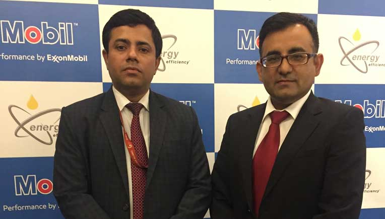 Dr. Suprotim Ganguly, CEO, Global Innovation & Technology Alliance and Head Energy (Technology), CII and Imtiaz Ahmed, ?Asia Pacific Mobil SHC Brand Manager, ExxonMobil