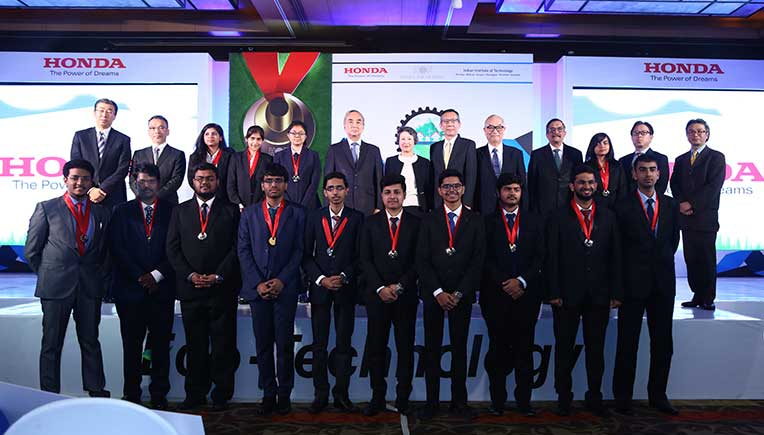12th Honda Young Engineer and Scientist's Award presented