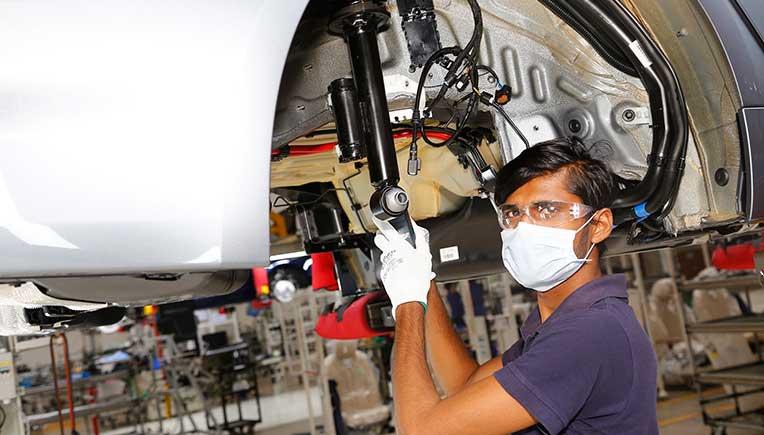BMW, Mercedes-Benz, TVS, Royal Enfield, VECV, others resume production