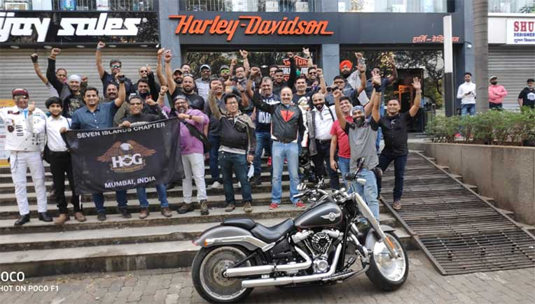 Harley riders support cause of H-D dealers over closure in India
