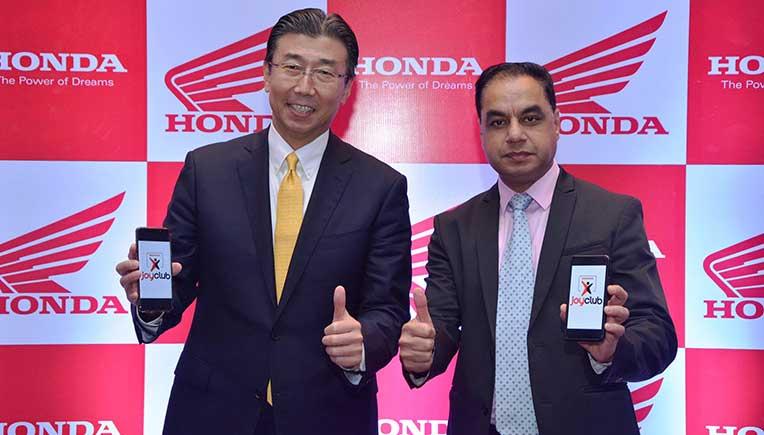 Honda 2Wheelers India launches 'Honda Joy Club'