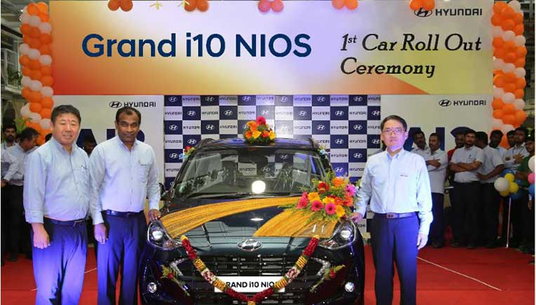 Hyundai rolls out first Grand i10 Nios from plant