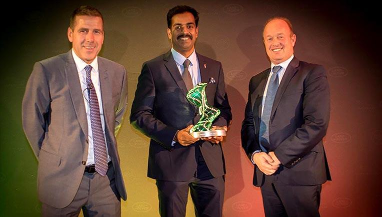 Indian technician wins Jaguar Land Rover Global Award