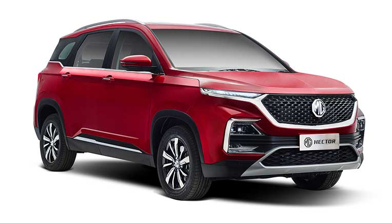 MG Motor India retails 2,608 units of Hector in September 2019