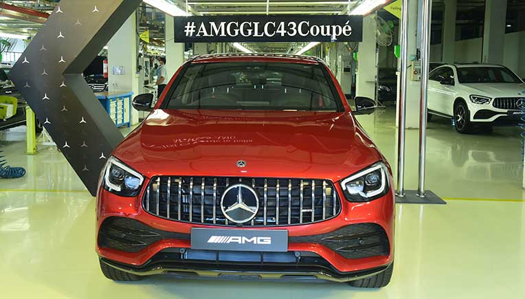 Mercedes-Benz starts local production of AMG in India