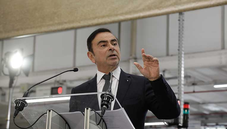 Nissan Chairman Carlos Ghosn arrested for financial misconduct allegations