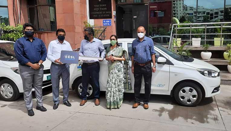 Tata Motors delivers Tata Tigor EVs to Ministry of Ayush