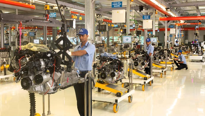 The new Force Motors plant in Chennai for BMW engines