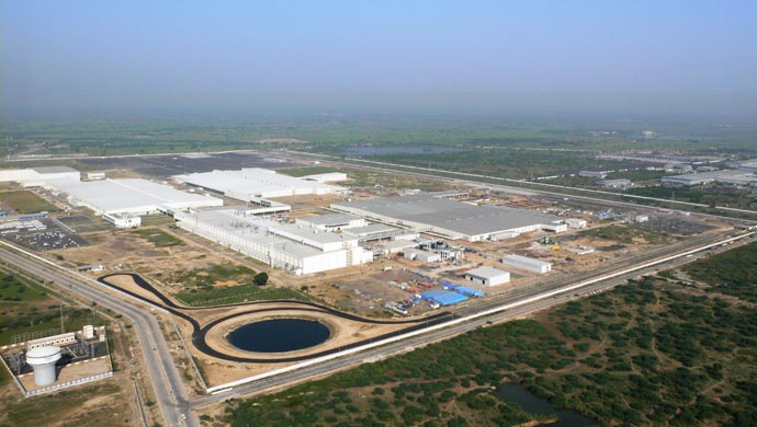 Ford Sets The Ball Rolling In Sanand With New Plant