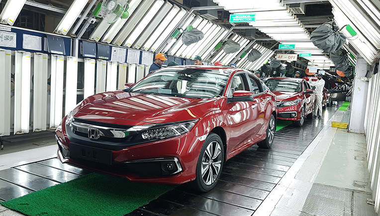 Honda Cars India Commences Production Of All New 10th Generation Civic