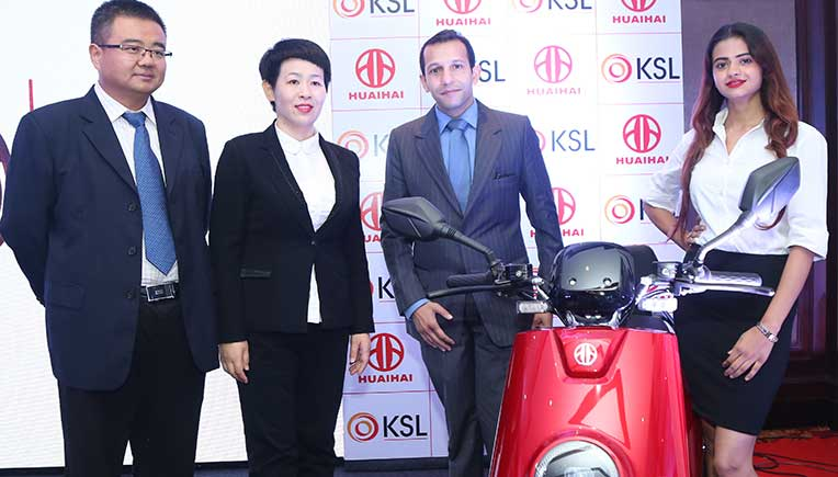 KSL Cleantech Limited, Huaihai Holding Group JV for electric vehicle business