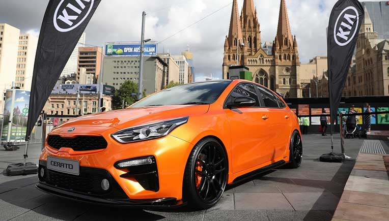 Kia Motors Corporation has supplied a fleet of vehicles for the Australian Open 2019