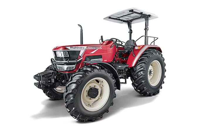 Mahindra tractor, pic for representation purpose only