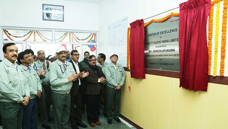 Maruti Suzuki inaugurates Centre of Excellence (CoE) in Manesar