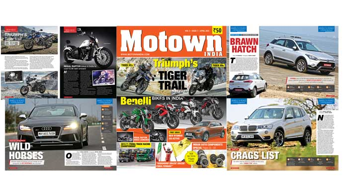 April 2015 issue of Motown India