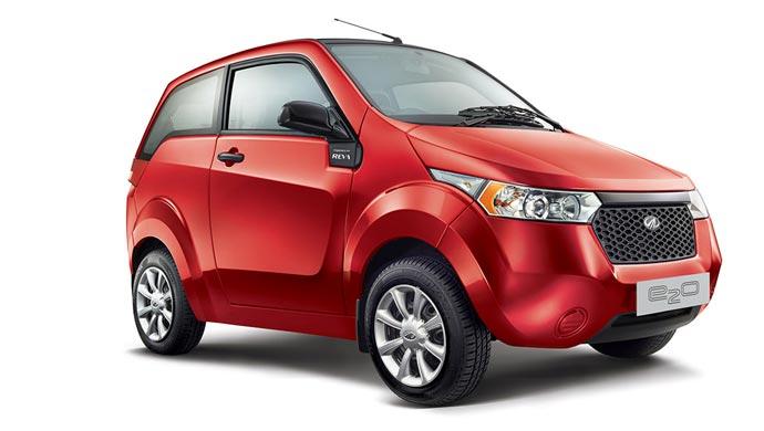 Mahindra electric car